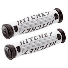 Puños Ritchey TRUE G6 blanco negro