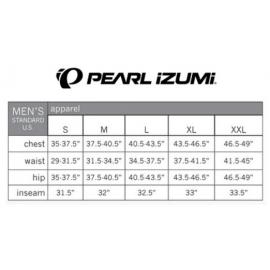 Culote largo térmico Pearl Izumi Road Elite negro amarillo
