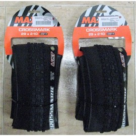 Pack 2 Cubiertas 29 x 2.10 Maxxis Crossmark Tubeless Ready 29