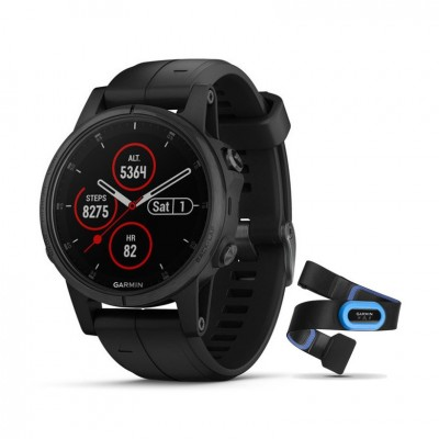 GPS Garmin Fenix 5S plus zafiro y transmisor 42MM