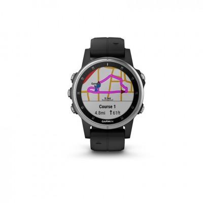 GPS Garmin Fenix 5S plus en plata y negro 42MM