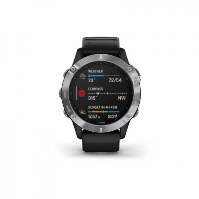 GPS Garmin Fenix 6 en plata y negro 47MM