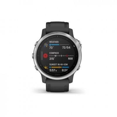 GPS Garmin Fenix 6S en plata y negro 42MM