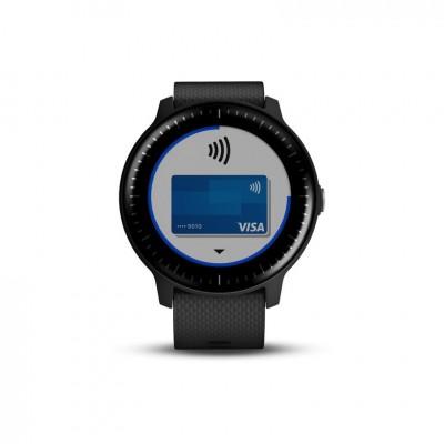 GPS smartwatch Garmin VivoActive 3 music