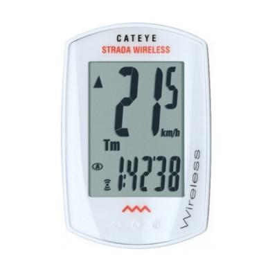 Cuentakilómetros Cateye Strada Wireless Slim