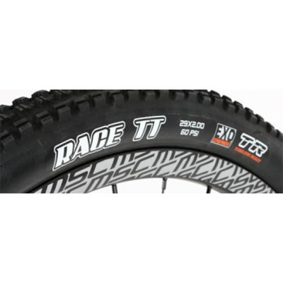 "Cubierta 29"" Maxxis Race TT Tubeless Ready"