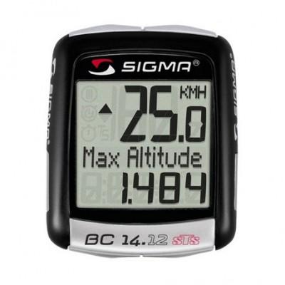 Cuentakilómetros Sigma BC 14.12 STS altimetro