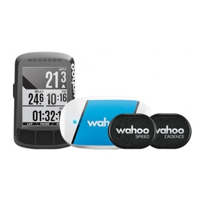Pack GPS Wahoo Element Bolt con Tickr, sensores de velocidad y cadencia