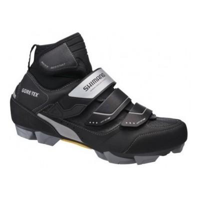 Zapatillas Shimano MW81 de invierno para MTB negro