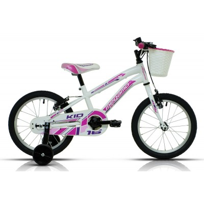 "MEGAMO KID 16"" Blanco Rosa"