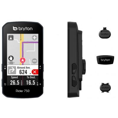 GPS Bryton Rider 750T sensor de cadencia, frecuenia cardíaca y velocidad