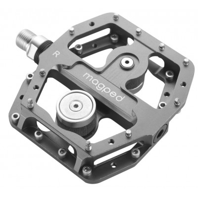 Pedales Magneticos Magped Enduro 150N Gris 2021