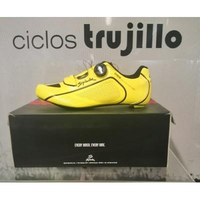 Zapatillas Spiuk Altube RC Road Carbon amarillo